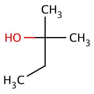 Why is aqueous sodium bicarbonate used to wash crude 2-chloro-2-methylbutane?