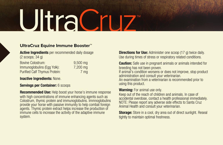Ultracruz 174 Equine Immune Booster Santa Cruz Animal Health