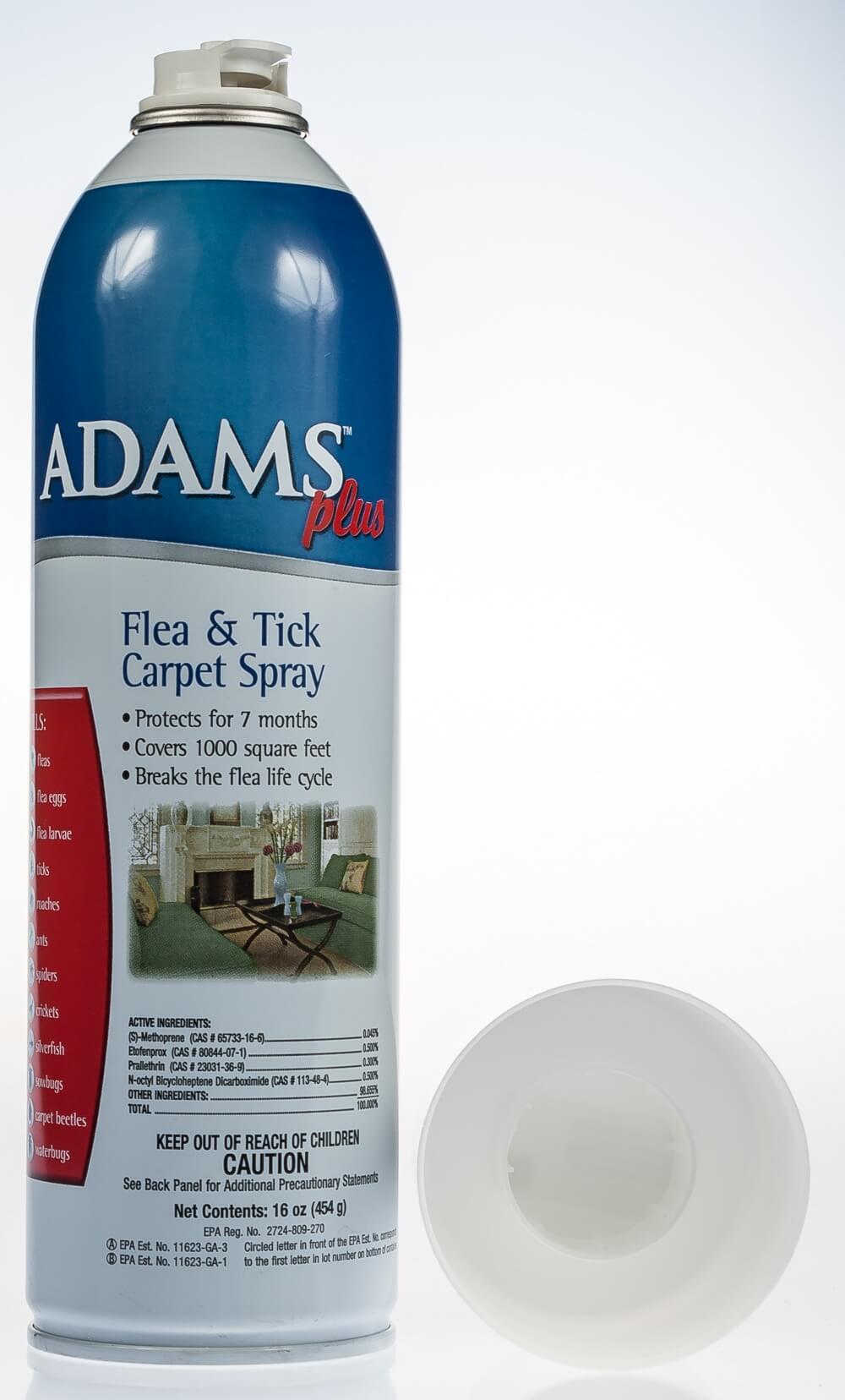 Adams Plus Flea Amp Tick Carpet Spray 16 Oz Santa Cruz