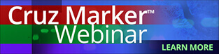 Click for details on our Cruz Marker webinar.