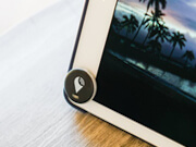 iPad with TrackR attached