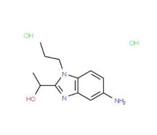 1-(5-Amino-1-propyl-1H-benzoimidazol-2-yl)-ethanol dihydrochloride: sc-302472...