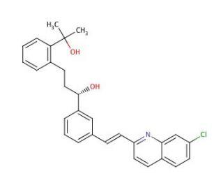 2-[3-(S)-[3-(2-(7-Chloro-2-quinolinyl)ethenyl)phenyl]-3